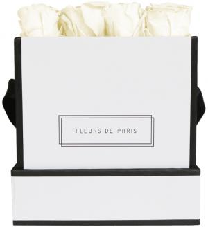 Petite Rose Edition Pastelle Yellow white - square