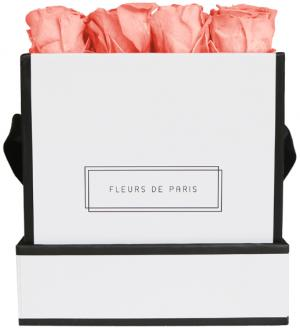 Petite Rose Edition Pink Apricot white - square