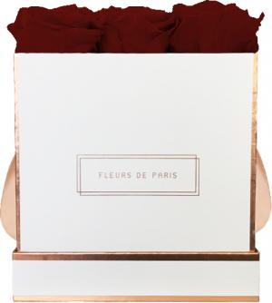 The Rosé Gold Collection Burgundy Medium white - square