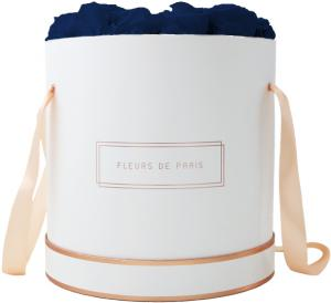 The Rosé Gold Collection Ocean Blue Petit Luxe white - round