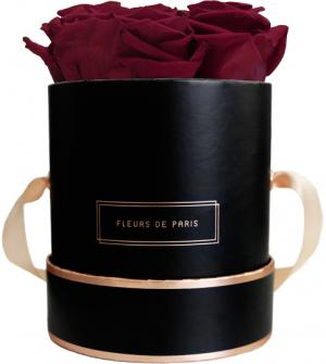 The Rosé Gold Collection Latin Cherry Small black - round