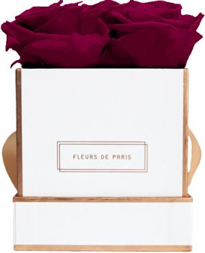 The Rosé Gold Collection Velvet Plum Small white - square