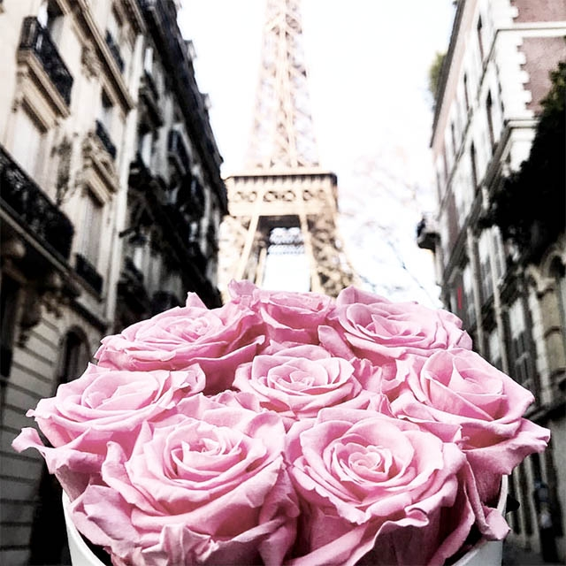 Real roses that last for years fleurs de paris for Fleurs livraison paris